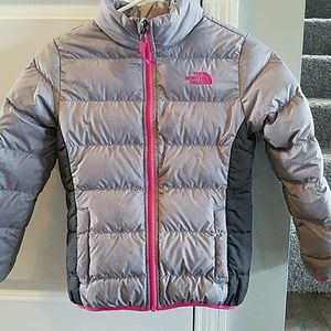 Girls North Face 550 filled winter jacket